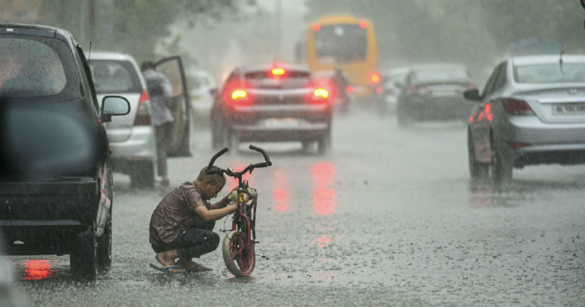 Monsoon Rains in Delhi