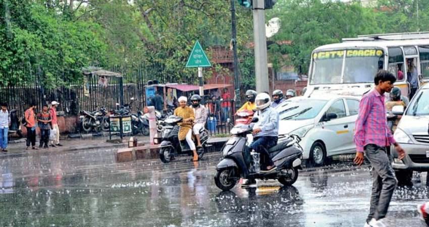Heavy rains lashing Jaipur, more intense rain likely for next 24 ...