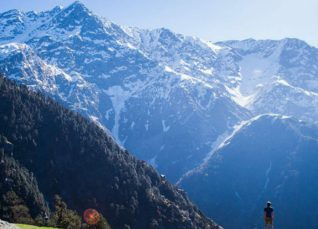 Mountain peaks in India