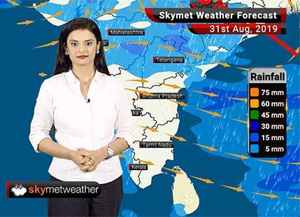 Weather Forecast Aug 31: Moderate rains over Nagpur, Vadodara, Surat, Ganjam, Meerut and Kota