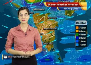Weather Forecast Aug 9: Very heavy rains forecast for Gujarat and Madhya Pradesh, floods likely