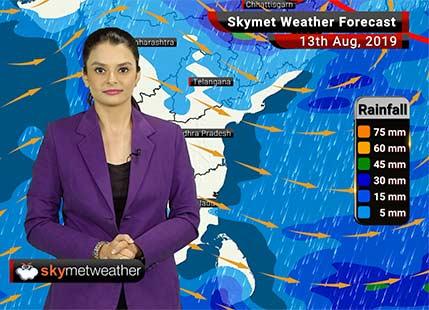 Weather Forecast Aug 13: Heavy rains over Uttarakhand, Nagpur, Akola, Amravati and Madhya Pradesh
