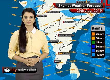 Weather Forecast Aug 29: Heavy rains over Port Blair, Kannur, Kozhikode, Kochi, Udaipur