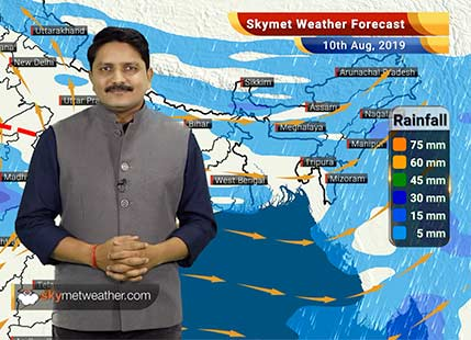 Weather Forecast Aug 10: Intense Monsoon rains to reduce in Kerala, Coastal Karnataka and Madhya Pradesh