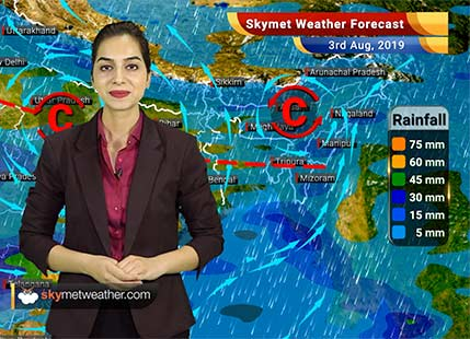 Weather Forecast Aug 3: Moderate rains in Mumbai, Jaipur, Ahmedabad and Surat