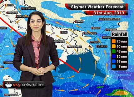 Weather Forecast Aug 31: Rain in Himachal Pradesh, Jammu and Kashmir, Punjab, Haryana and Delhi