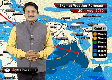 Weather Forecast Aug 30: Low Pressure reaches central India, Delhi rains to intensify from August 31