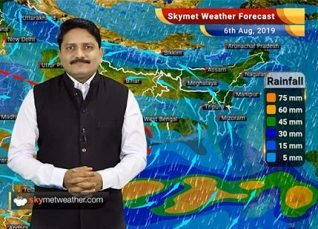 Weather Forecast Aug 6: Madhya Pradesh, Chhattisgarh and Odisha to observe good rains, Ladakh to be dry