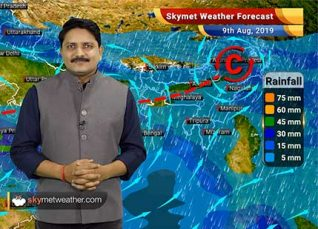Weather Forecast Aug 9: Heavy rains in Gujarat, Rajasthan, Madhya Pradesh and Western Ghats