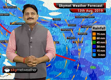 Weather Forecast Aug 13: Heavy Monsoon rains to lash Madhya Pradesh, Maharashtra, Chhattisgarh, Uttarakhand
