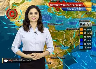 Weather Forecast for August 5: Heavy rains likely in Konkan and Goa, Mumbai rains to reduce