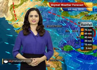 Weather Forecast for August 6: North Konkan and Goa including Mumbai to witness light to moderate rains