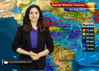 Weather Forecast for August 9: Heavy rains likely in Mumbai and Ratnagiri on August 9 and 10