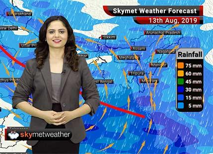 हवामान अंदाज 13 ऑगस्ट: नागपूर आणि गोंदिया मध्ये चांगला पाऊस, मुंबई मध्ये मध्यम सरींची शक्यता