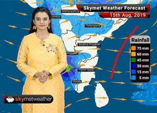 Weather Forecast Aug 15: Heavy rains in East Rajasthan, West Madhya Pradesh and parts of Kerala