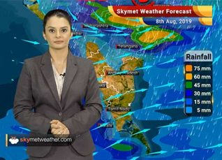 Weather Forecast Aug 8: Depression to give heavy Monsoon rains in Bhopal, Indore, Nagpur and Akola