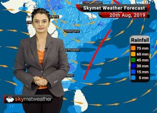 Weather Forecast Aug 19: Newly Formed Low Pressure Area to give fresh rains in East India