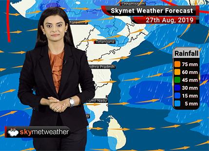 Weather Forecast Aug 27: Moderate rain in Guna, Neemuch, Alwar, Sikar, Kota and Udaipur