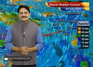 Weather Forecast Aug 8: Heavy rain in Madhya Pradesh, Vidarbha, Goa, Himachal, Uttarakhand, Delhi to be dry
