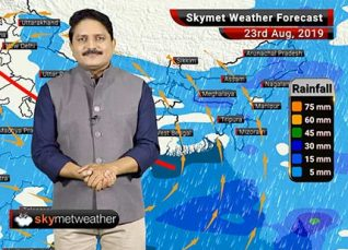 Weather Forecast Aug 23: Active Monsoon conditions over Uttar Pradesh, Madhya Pradesh, Bihar and Kerala