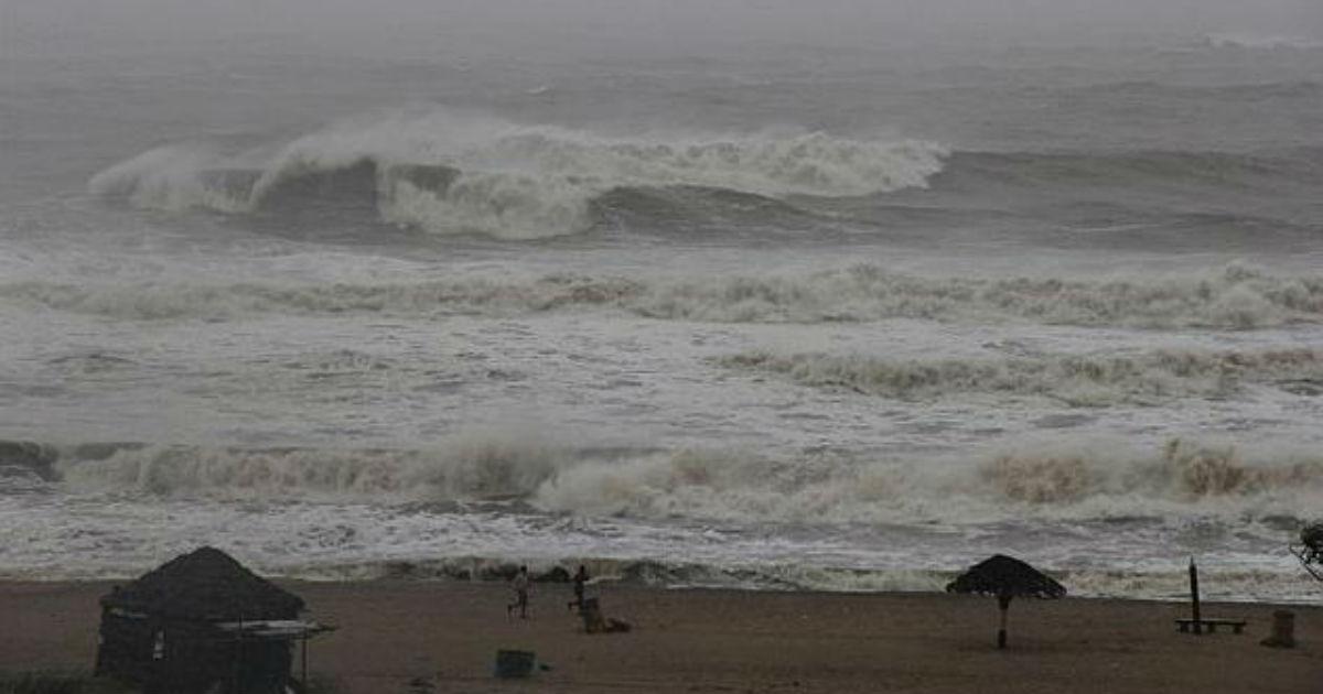 Odisha deep depression NDTV 1200