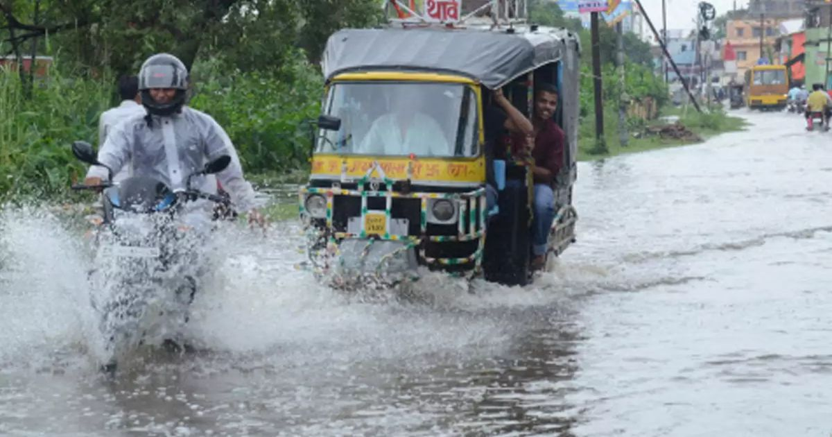Rain in Bihar and Jharkhand