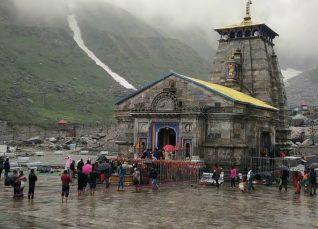 Rain in Kedarnath