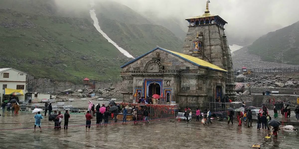 Rain in Kedarnath