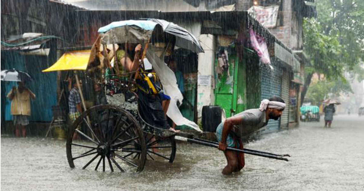 Rain in Kolkata