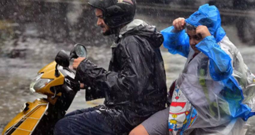 Rain in Vadodara
