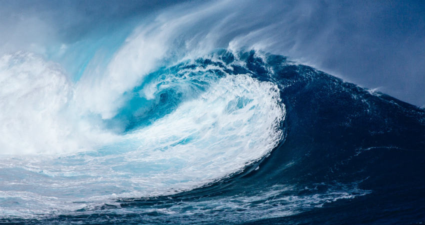 Ocean Waves and Climate Change