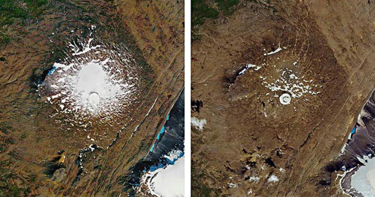 Climate Change Iceland Glacier