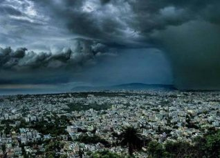 Deep Depression in the Bay of Bengal