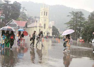 Monsoon Rains in Himachal and Uttarakhand