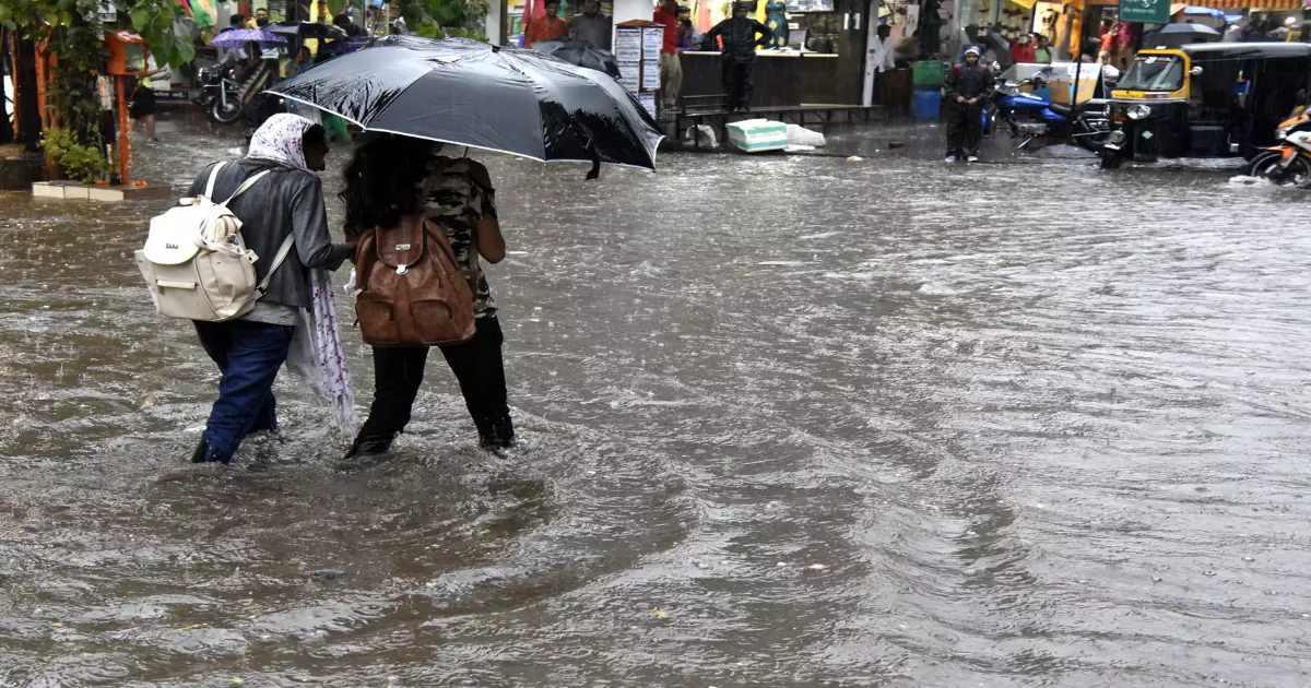 Varanasi rain