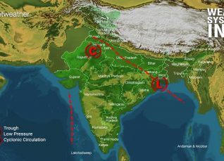 Weather Forecast for August 14 Across India