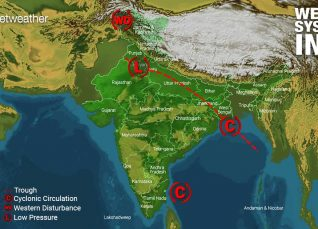 Weather Forecast for August 19 Across India