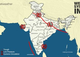 Weather Forecast for August 21 Across India