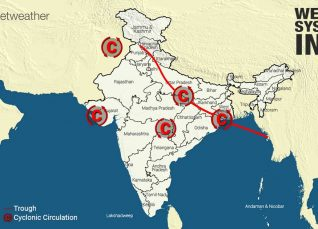 Weather Forecast for August 24 Across India