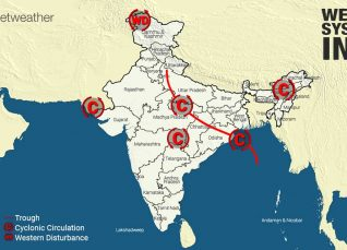 Weather Forecast for August 25 Across India