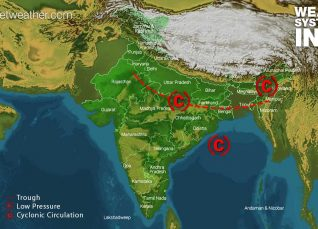 Weather Forecast for August 3 Across India