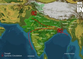 Weather Forecast for August 6 Across India