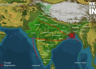 Weather Forecast for August 7 Across India