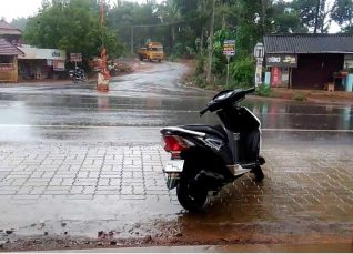 Rain in Coastal Karnataka and Kerala