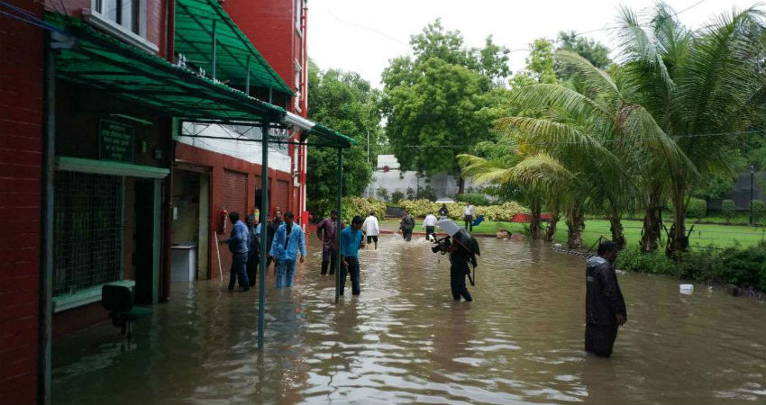 flooding rains in Nagpur