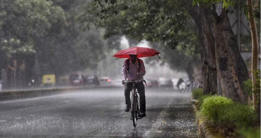 Delhi Morning Rains