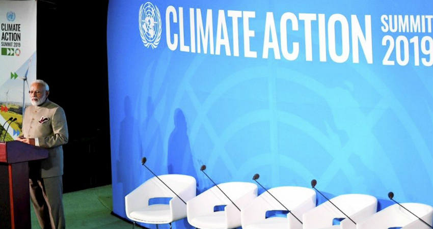 Climate Action Summit Modi