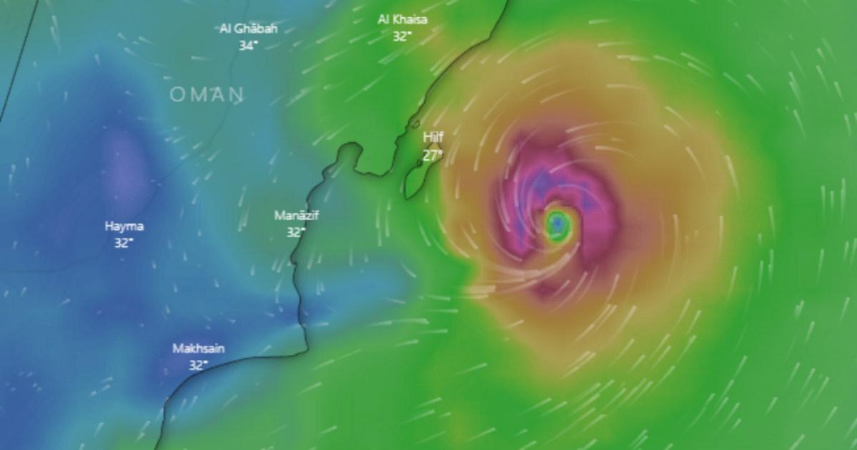 Cyclone Hikaa