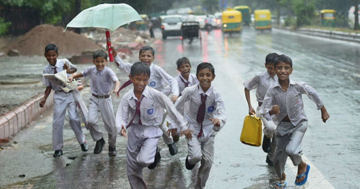 Delhi Monsoon rains 2019 - Nyooz