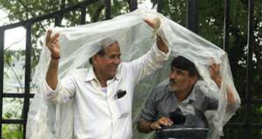Rain in Bihar and Uttar Pradesh